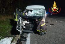 Photo of Incidente frontale tra un auto e un furgone ieri, in agro di Vinchiaturo al km 121.500 della SS87